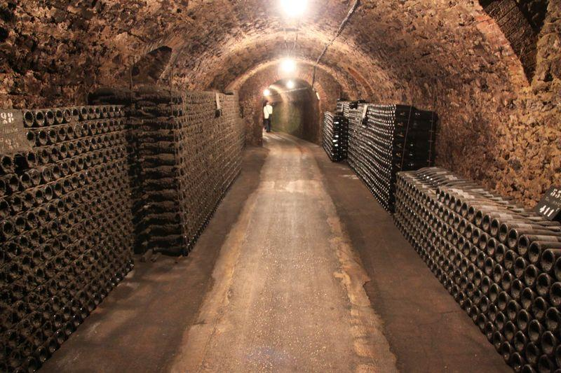 Champagne cellars