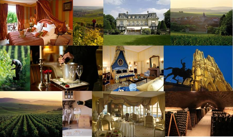 Private escorted and Luxury Champagne tours